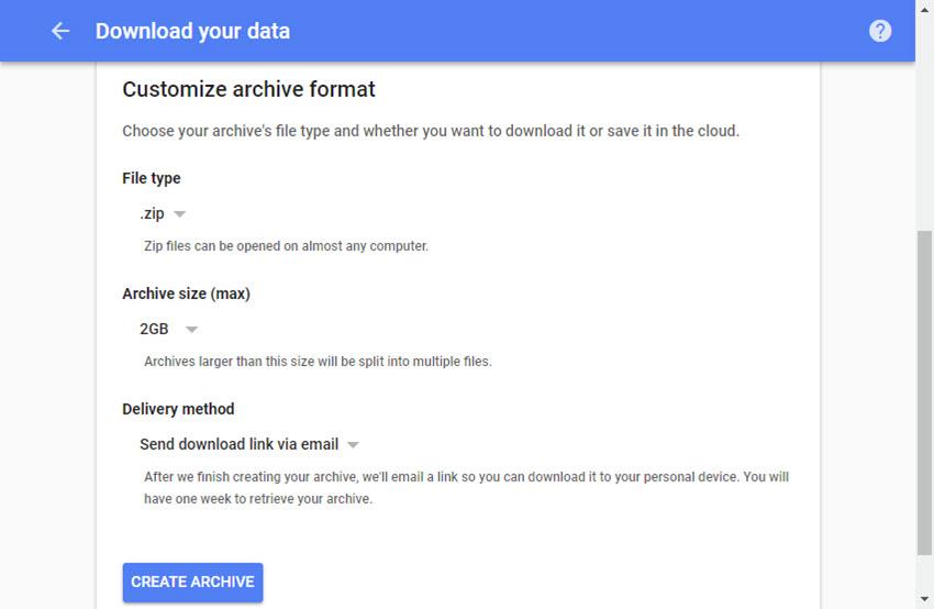 cara mudah melakukan backup akun gmail